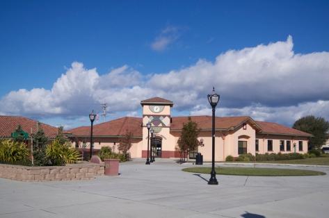 The Andy Ausonio Library, Castro Plaza. Castroville, CA.